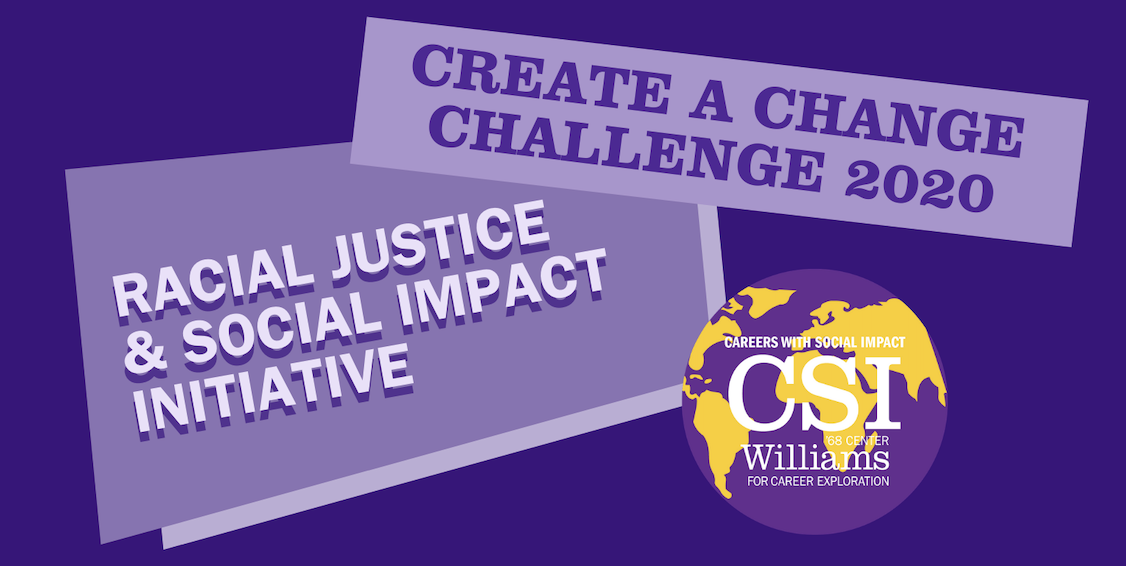 Graphic for Racial Justice & Social Impact Initiative