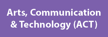 Arts, Communication & Technology Career Community Page