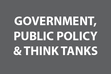 Government, Public Policy, & Think Tanks